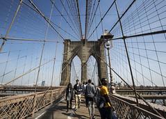 Cables of Brooklyn Bridge