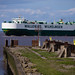 Ship Boheme leaving Portbury Dock
