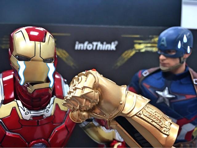 以大魔王等級的規格火熱登場!! infoThink《復仇者聯盟3:無限之戰》無限手套 藍牙喇叭、造型隨身碟