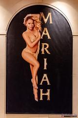 Mariah Carey banner, The Colosseum at Caesars Palace, Las Vegas