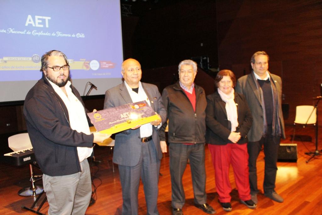 AET es destacada como institución fundadora en 75° Aniversario de ANEF - 14 Mayo 2018