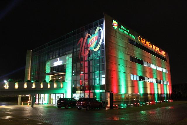 FGF 100 anos - Iluminação da sede