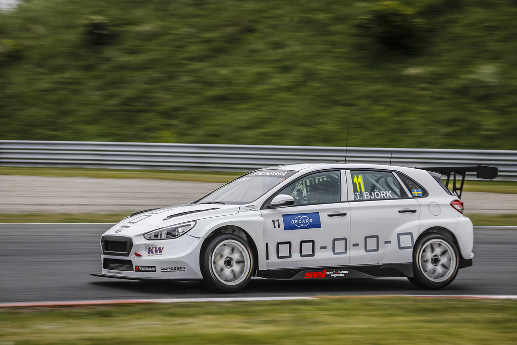 11 BJORK Thed, (swe), Hyundai i30 N TCR team Yvan Muller Racing, action during the 2018 FIA WTCR World Touring Car cup of Zandvoort, Netherlands from May 19 to 21 - Photo Francois Flamand / DPPI