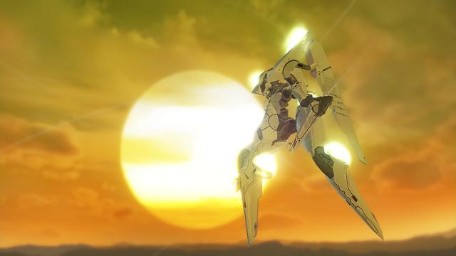 Zone of the Enders 2nd Runner Mars - Mech Sunset