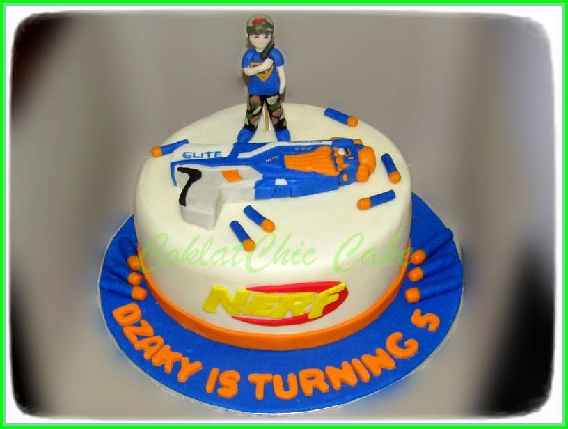 cake Nerf Dzaki 20 cm