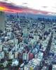 Photo:(#sunrise #droneview) Tokyo (東京都 Tōkyō-to, literally