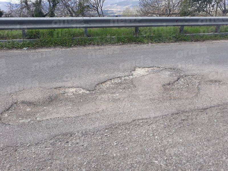 Strada proviciale Montesano