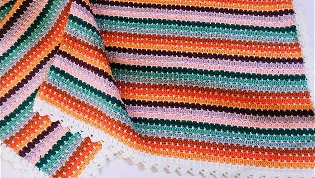 Tığ İşi Kolay Battaniye Yapımı