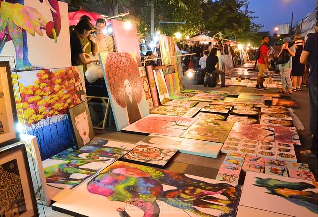 chiang mai itinerary thailand night market