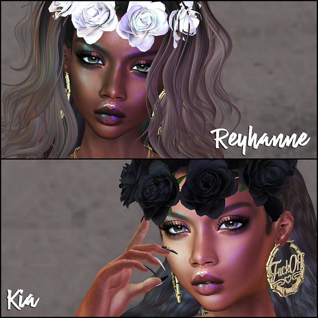 Colivati Beauty - Reyhanne&Kia [Catwa]_close