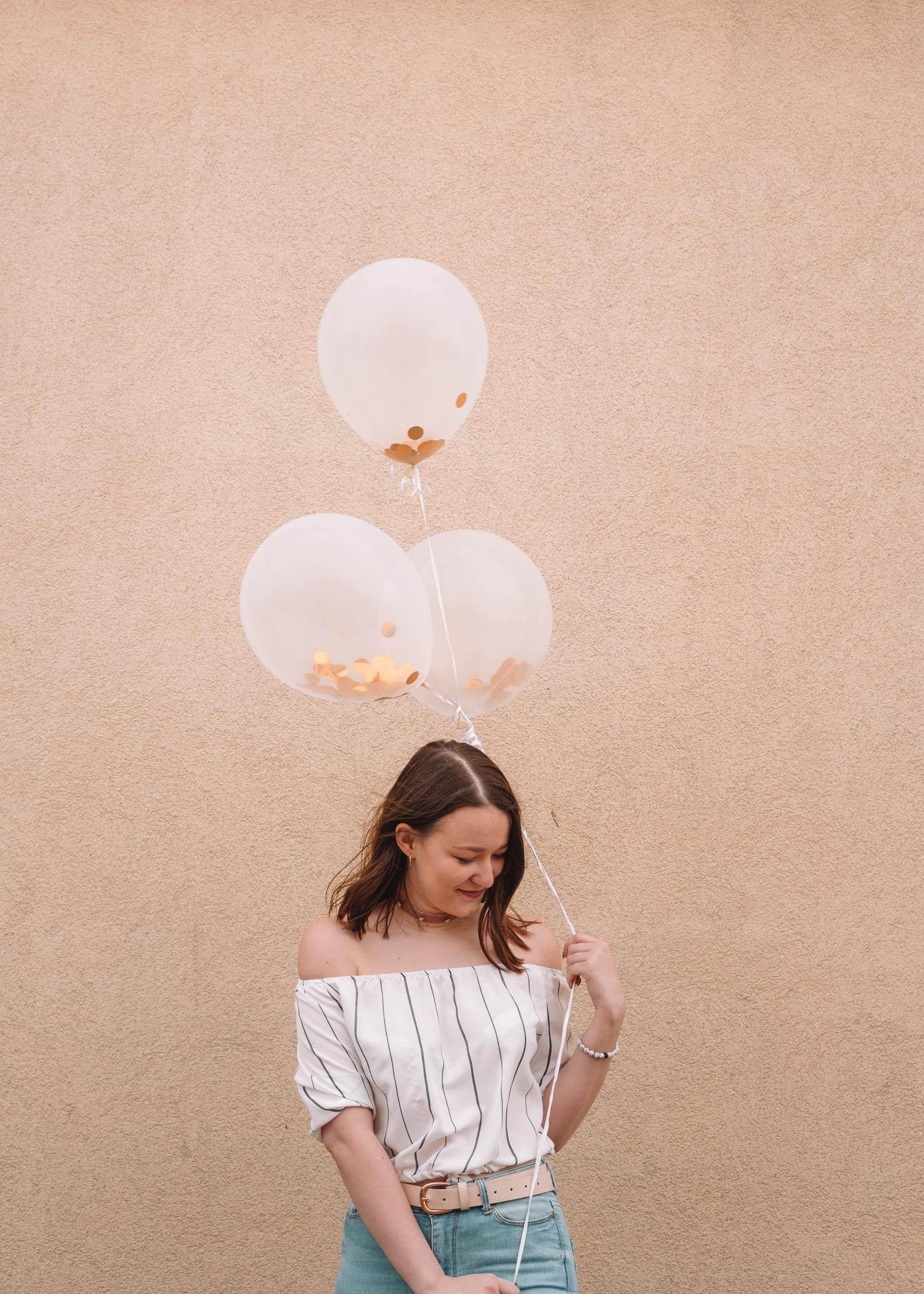 balloon birthday girl