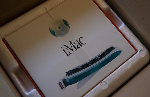 iMac (Rev.A) 発表20周年らしい