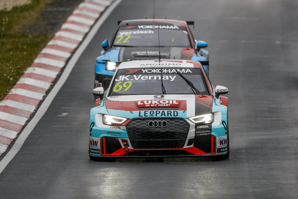 69 VERNAY Jean-Karl (FRA), Audi Sport Leopard Lukoil Team, Audi RS3 LMS, action during the 2018 FIA WTCR World Touring Car cup of Nurburgring, Germany from May 10 to 12 - Photo Florent Gooden / DPPI