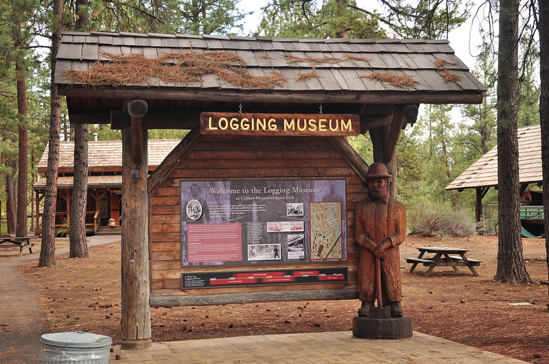 Collier State Park Logging Museum