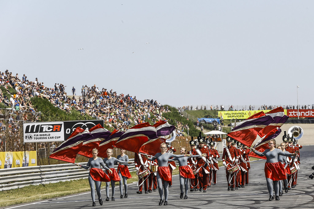 GRID atmosphere, during the 2018 FIA WTCR World Touring Car cup of Zandvoort, Netherlands from May 19 to 21 - Photo Jean Michel Le Meur / DPPI