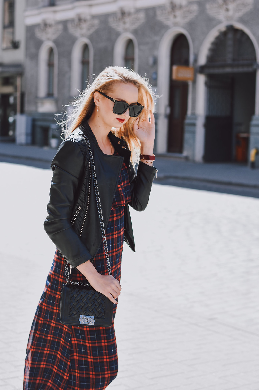 How to style tartan