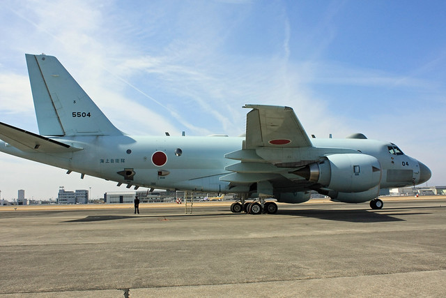 海上自衛隊 P-1 対潜哨戒機 5504 IMG_7577_2