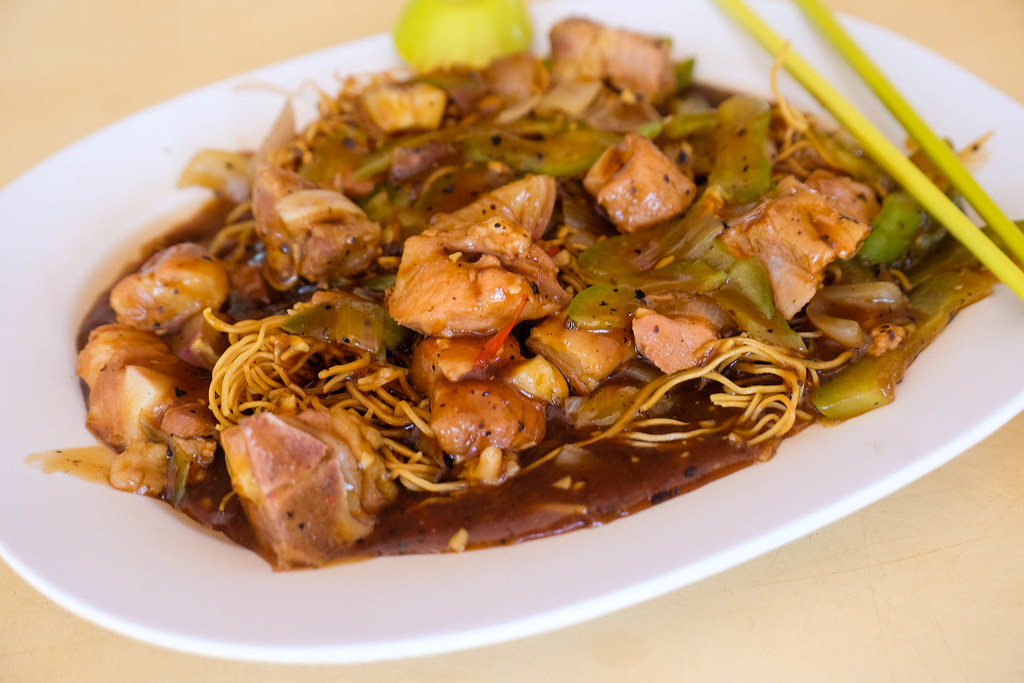 wong hing kitchenette Fried Mee