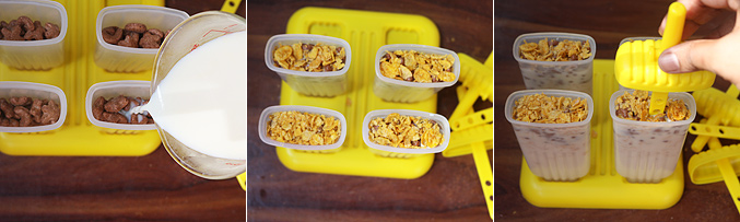 How to make breakfast cereal popsicle recipe - Step5