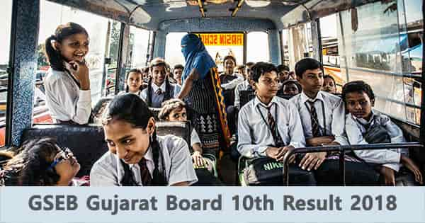gseb 10th result gujarat board online