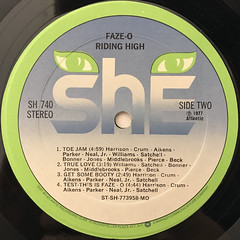 FAZE-O:RIDING HIGH(LABEL SIDE-B)