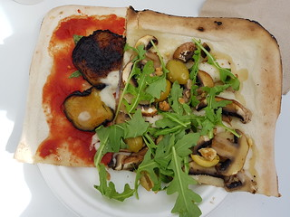 Mushroom Pizza from by Gigi at Love Child Miami