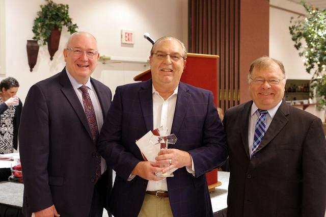 Tim Puntarelli Wins St. Vincent Award