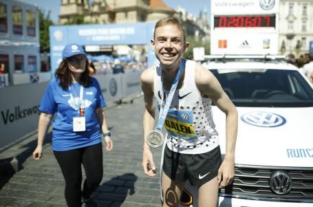 Pražský maraton vyhrál Američan Galen Rupp, českými mistry Homoláč a Pastorová