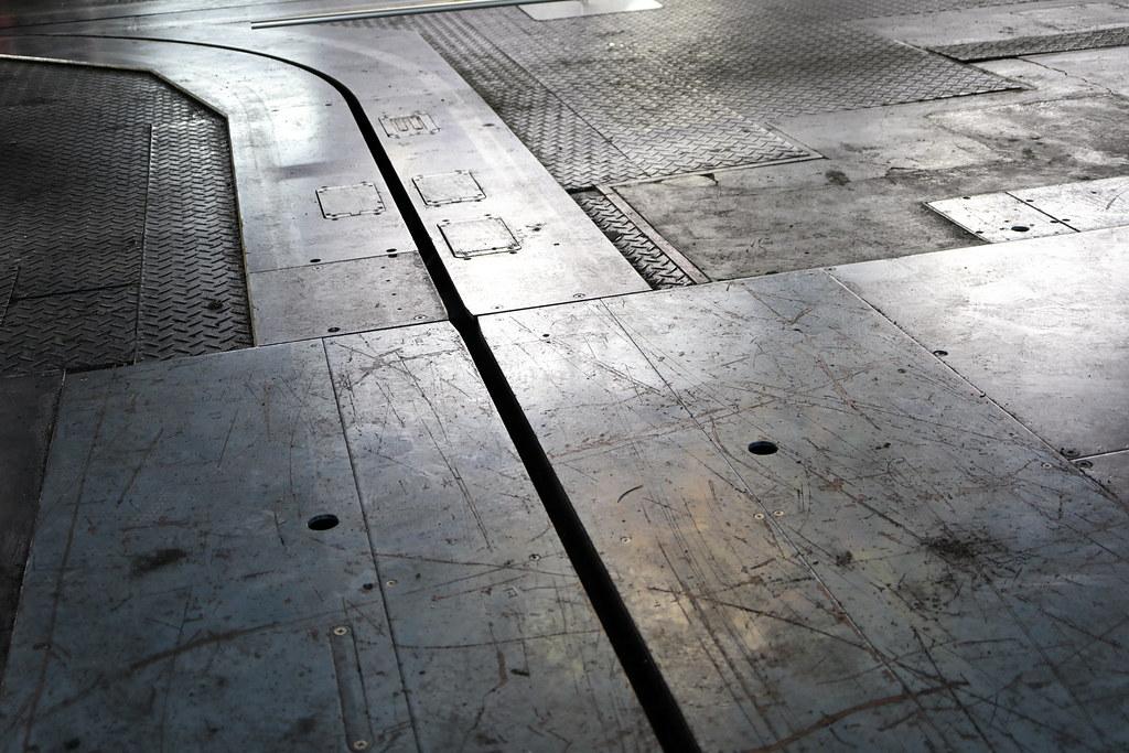 京都新聞ビル 印刷工場跡
