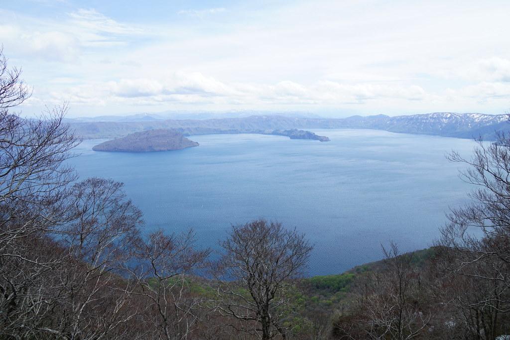 御鼻部山展望台からの十和田湖