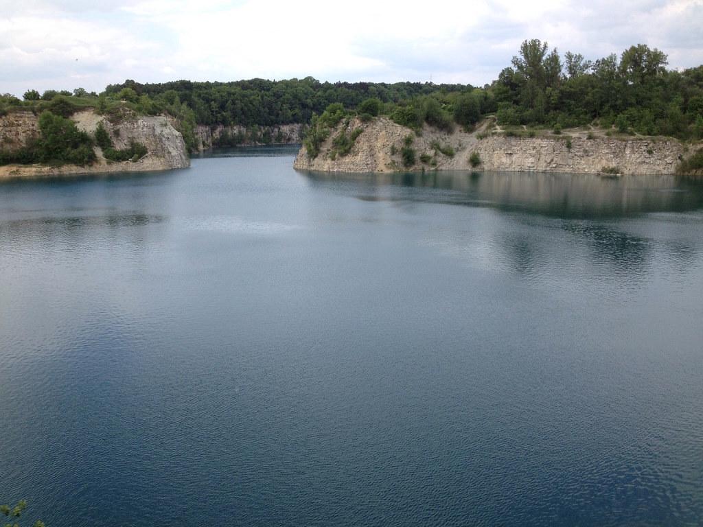 Озеро Закшувек (zalew Zakrzówek)