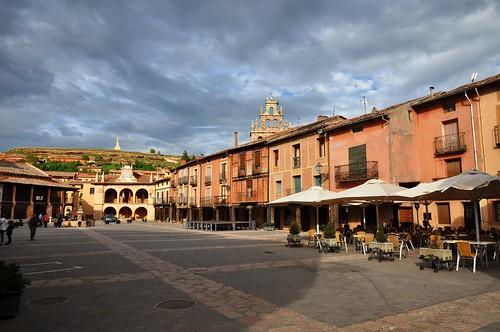 Ayllón (Segovia-España). Plaza Mayor