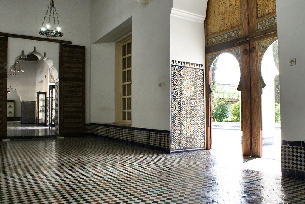 A l'intérieur du musée Dar Batha à Fès.
