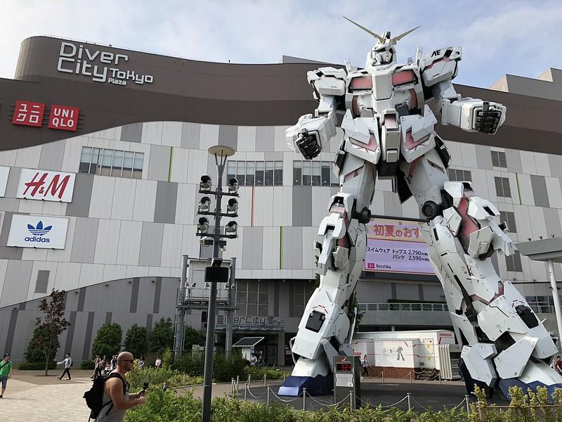 iPhone X - Odaiba Gundam Statue