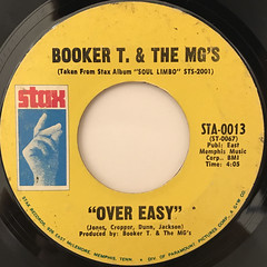 BOOKER T. & THE MG'S:HANG 'EM HIGH(LABEL SIDE-B)