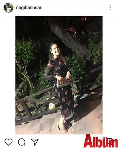 Nagihan Sarı, bahara özgü çiçekli elbisesiyle dikkat çektiği bu paylaşımıyla kısa sürede yüzlerce beğeni topladı.