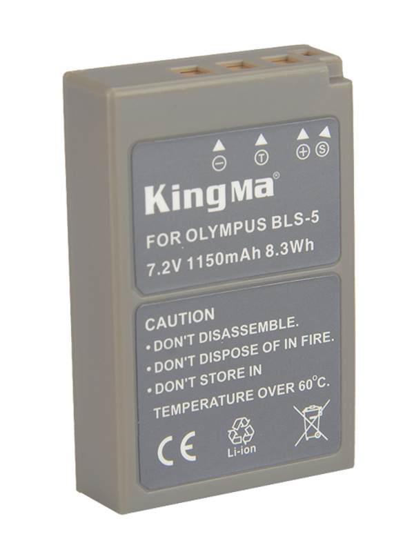 kingma camera battery Olympus BLS5