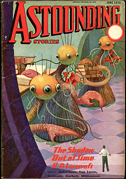 ASTOUNDING STORIES by Lovecraft H P ASTOUNDING STORIES June 1936 Volume 17 Uti 425