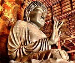 Śunyatā - Unlimited Space, Infinite Possibilities (Buddha Vairocana:Vairochana, embodiment of Emptiness) [Todai-Ji Monastery, Nara, Japan)