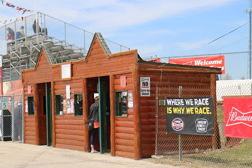 4.22.18 La Crosse Fairgrounds Speedway -  ticket booth
