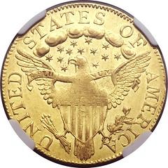 1798 half eagle reverse