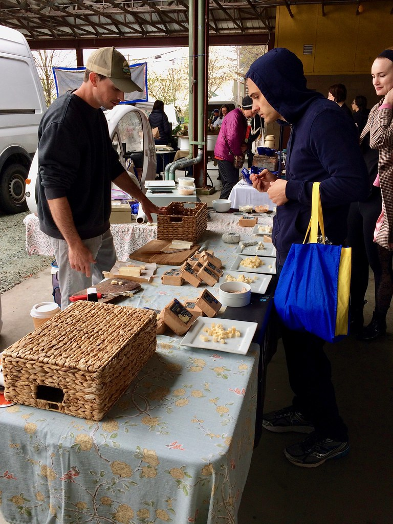 Boxcarr Handmade Cheese at Durham Farmer's Market
