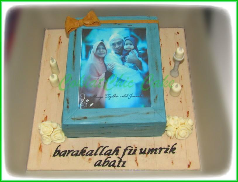 Cake Edible Foto ABATI 18 cm