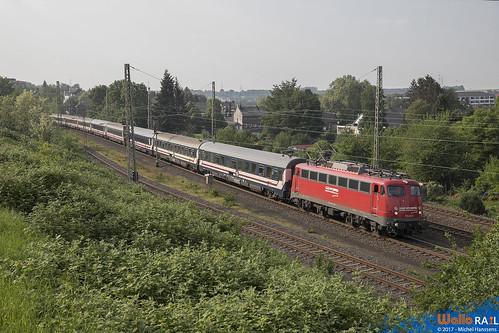Eschweiler Hbf. 14.05.18.