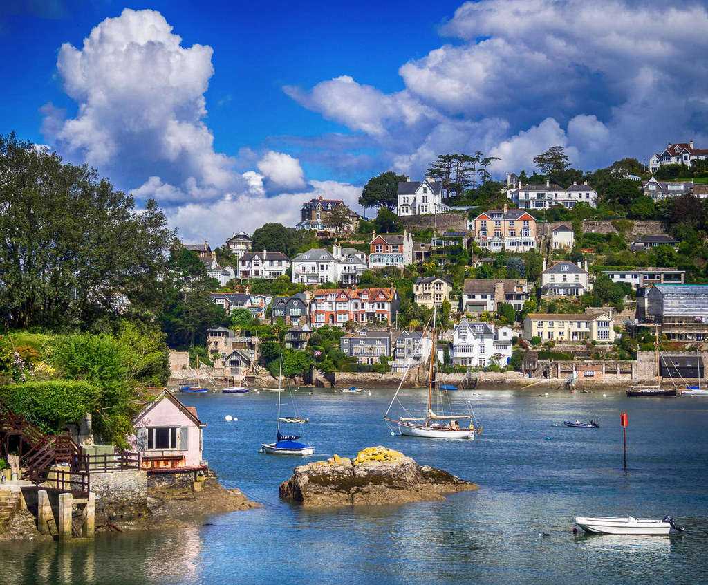 Kingswear, Devon. Credit Bob Radlinski, flickr