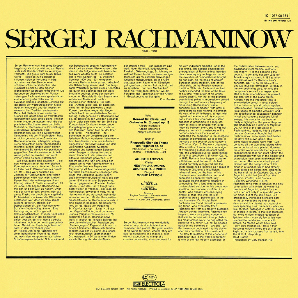 Sergei Rachmaninoff - Piano Concerto No. 2