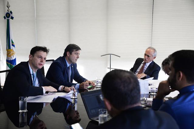 Audiência com o Deputado João Arruda