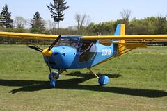 G-CKVM Aeropro Eurofox3K [53618] Popham 050518