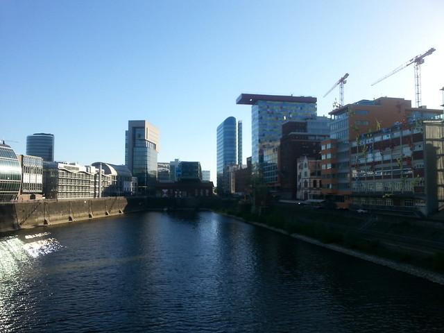 Docks in Düsseldorf