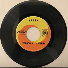 CANNNONBALL ADDERLEY:MERCY, MERCY, MERCY(RECORD SIDE-B)